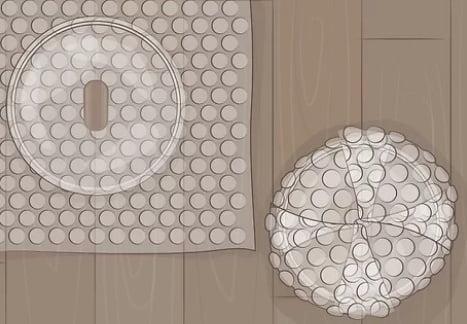 Bubble Wrap the Glass Lids