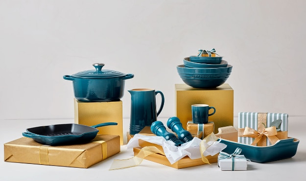how to gift wrap pots and pans