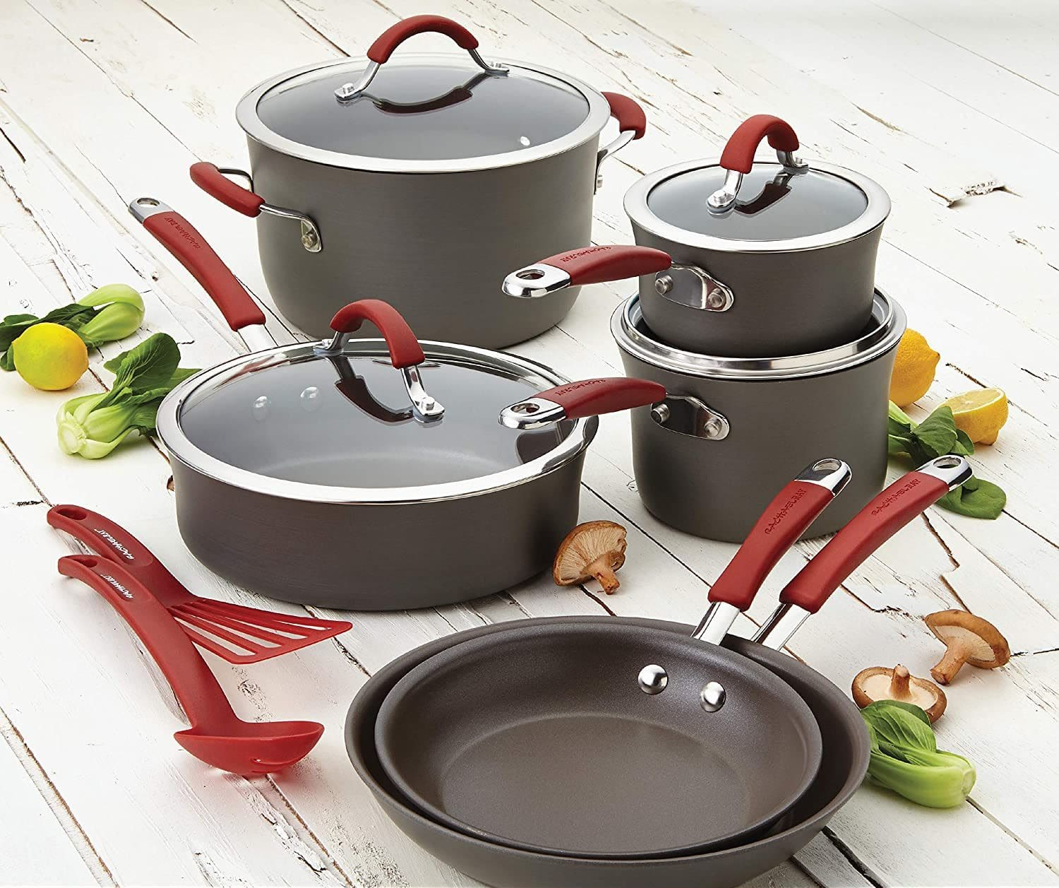 Hard-Anodized Cookware